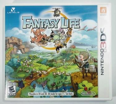 Jogo Fantasy Life Original - 3DS