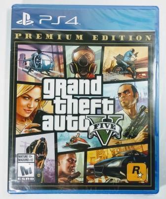 Jogo GTA V Premium Edition (lacrado) - PS4