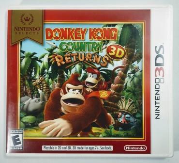 Jogo Donkey Kong Country Returns 3D Original - 3DS