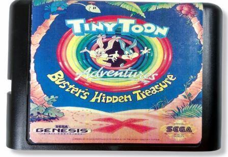 Jogo Tiny Toon Adventures Busters Hidden Treasure - Mega Drive