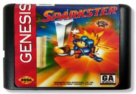 Jogo Sparkster - Mega Drive