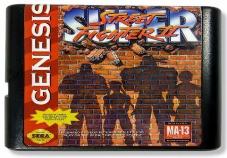 Jogo Super Street Fighter 2 - Mega Drive