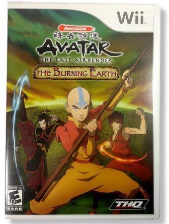 Jogo Avatar the Burning Earth - Wii