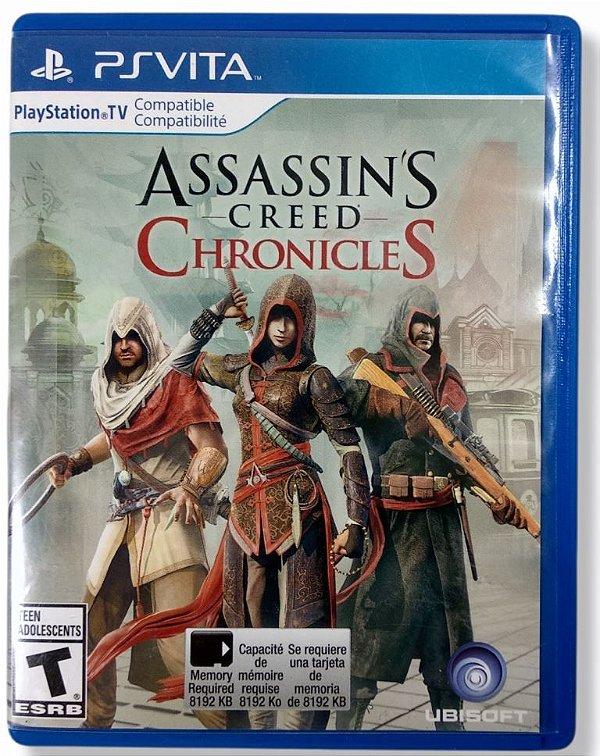 Jogo Assassins Creed Chronicles - PS Vita