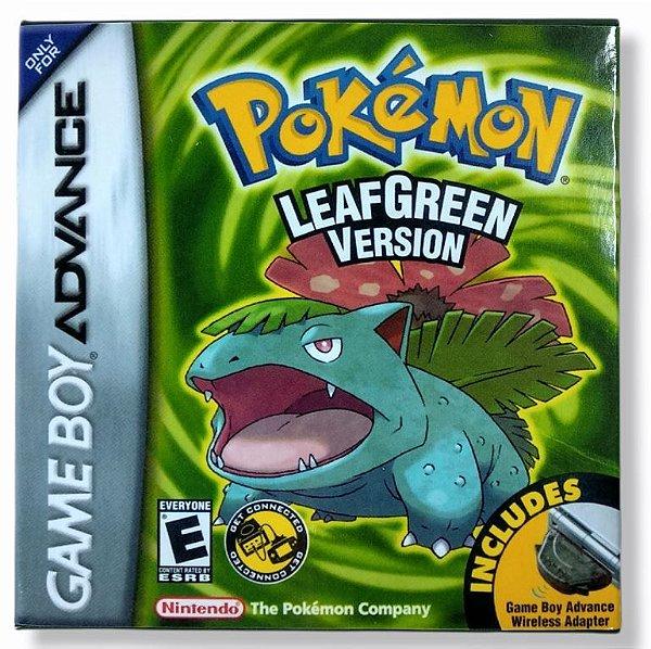 Jogo Pokemon Leafgreen version - GBA