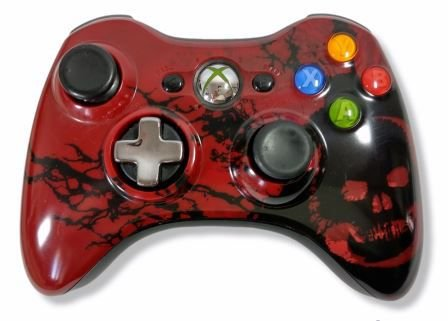 Controle Microsoft Original Sem fio - Xbox 360