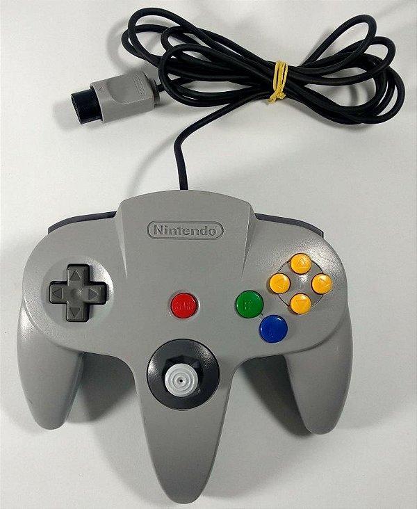 Controle Original Cinza - N64