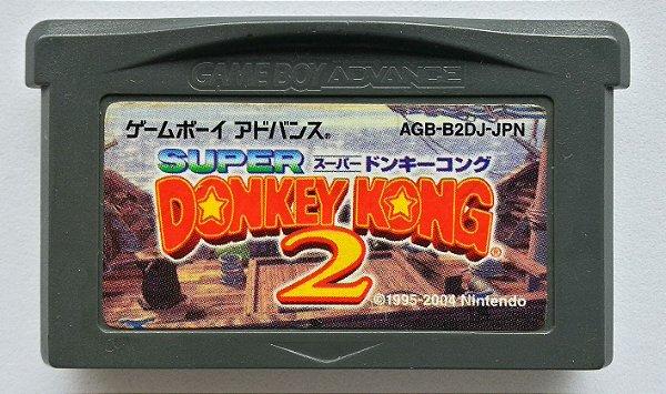 Donkey Kong Country 2 Original [Japonês] - GBA