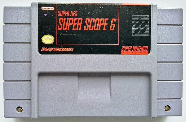 Super Scope 6 Original - SNES