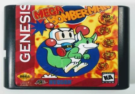 Mega Bomberman - Mega Drive