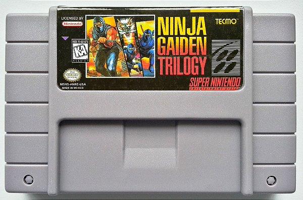 Ninja Gaiden Trilogy - SNES