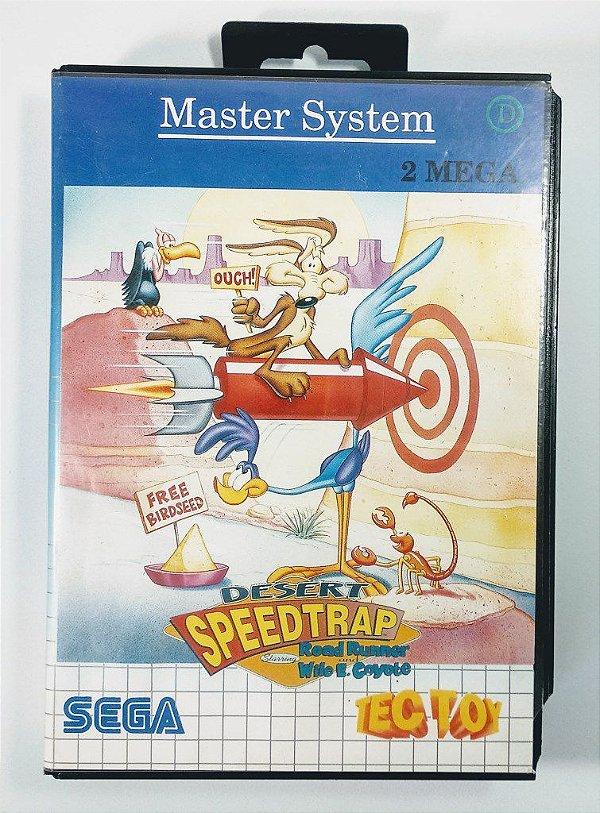 Desert Speedtrap - Master System