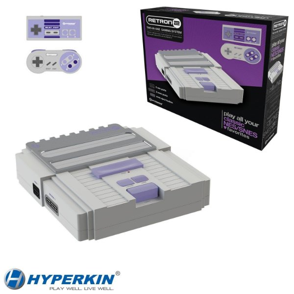 Retron 2 Hyperkin (NES - SNES)