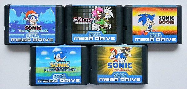 Sonic Variações Hack (cada) - Mega Drive