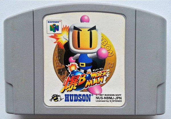 Bomberman Original [Japonês] - N64