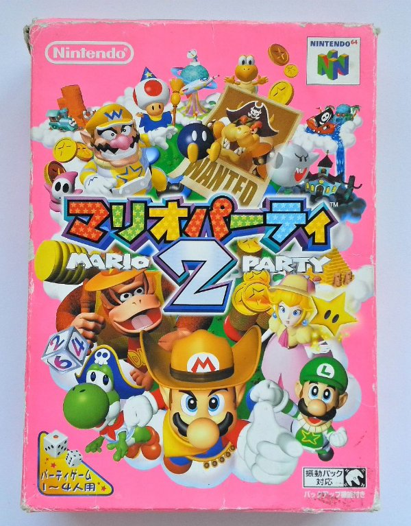 Mario Party 2 Original [Japonês] - N64