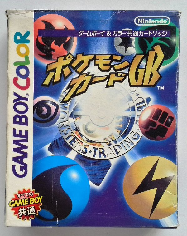 Pokemon Trading Card Game Original [Japonês] - GBC