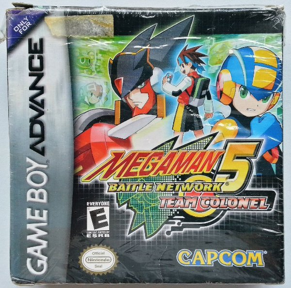 Mega Man Battle Network 5 Team Colonel Original - GBA