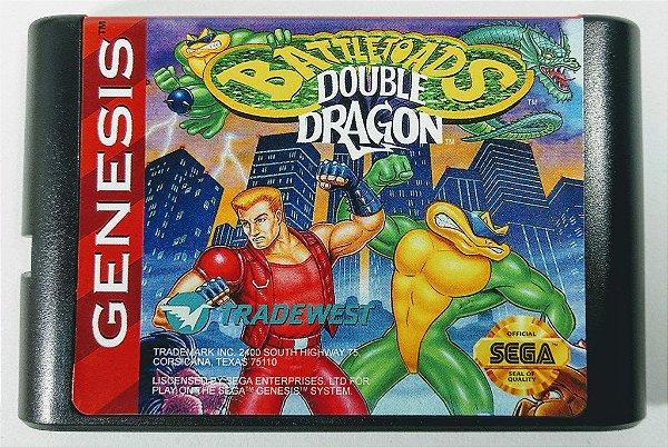 Battletoads Double Dragon - Mega Drive