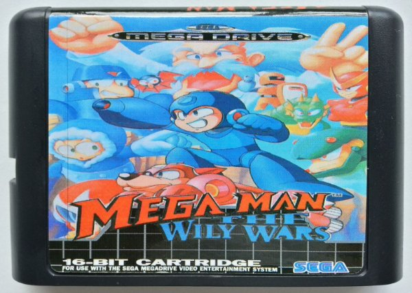 Mega Man the Wily Wars - Mega Drive