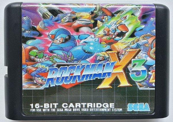 Rockman X3 - Mega Drive