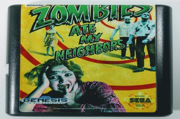 Zombies ate my Neighbors - Mega Drive