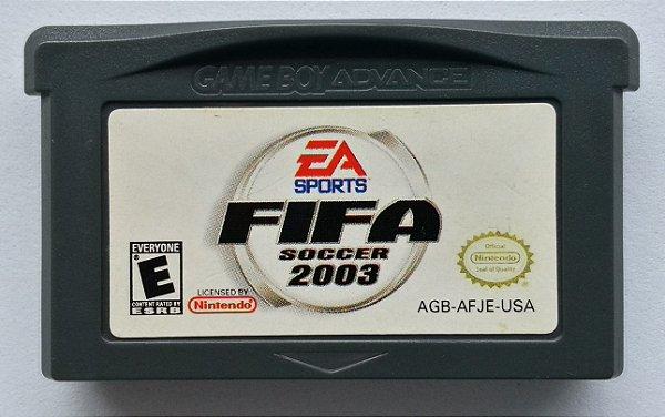 Fifa Soccer 2003 Original - GBA