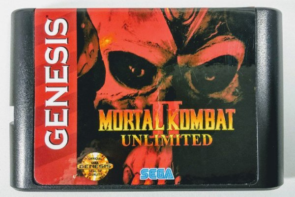 Mortal Kombat 2 Unlimited - Mega Drive