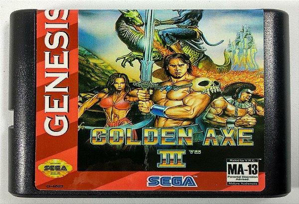 Jogo Golden Axe 3 - Mega Drive