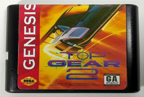 Top Gear 2 - Mega Drive