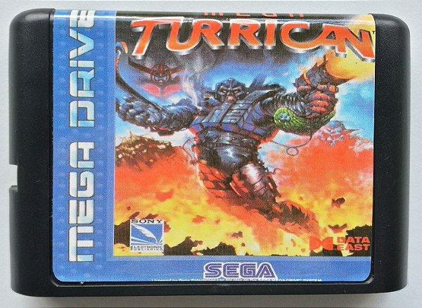Mega Turrican - Mega Drive