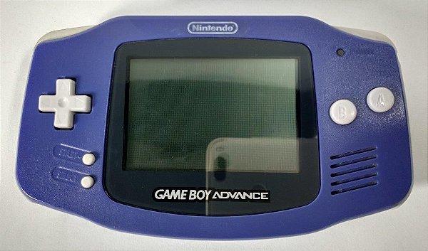 Game Boy Advance Roxo - GBA