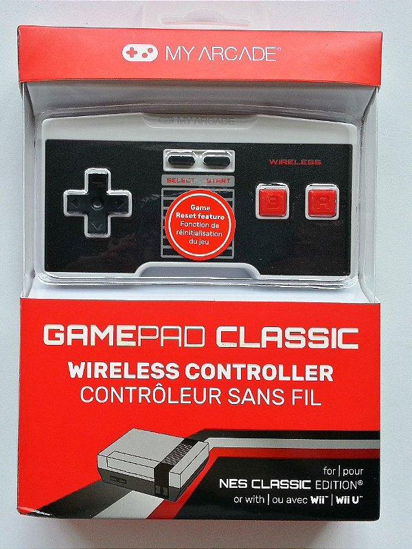 Controle Wireless para Mini NES - Wii/ Wii U