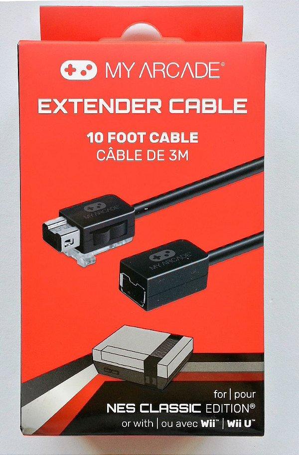 Cabo Extensor para o controle do Mini NES - Wii/ Wii U