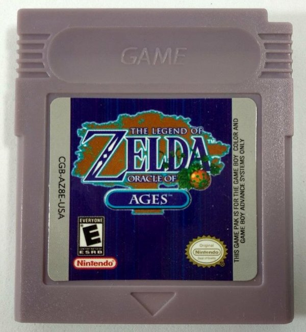 Zelda Oracle of Ages - GBC