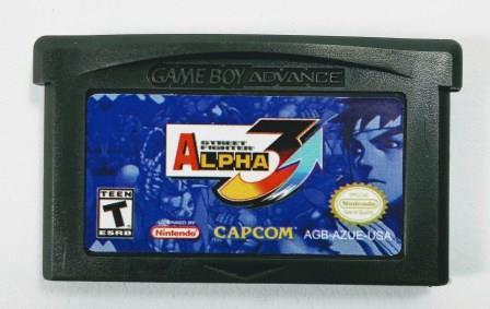 Jogo Street Fighter Alpha 3 - GBA