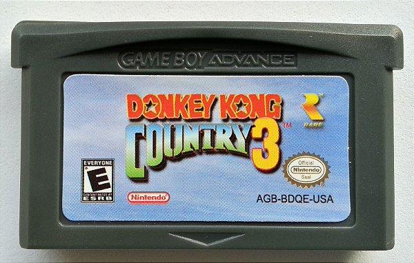 Donkey Kong Country 3 - GBA
