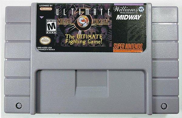 Jogo Ultimate Mortal Kombat 3 - SNES