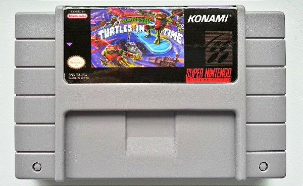 Turtles in Time (Turtles IV) - SNES