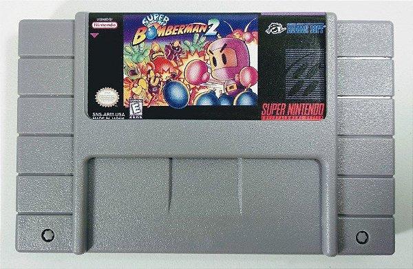 Jogo Super Bomberman 2 - SNES