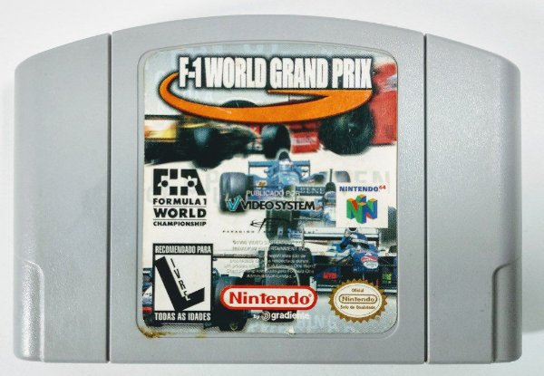 F-1 World Grand Prix - N64