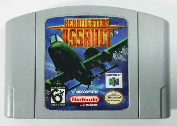 Aero Fighters Assault - N64
