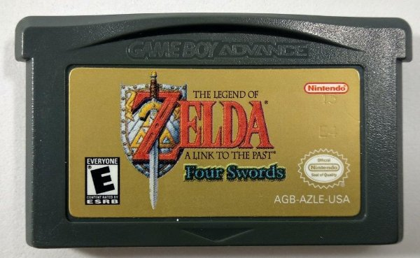 Zelda link to the past Four Swords Original - GBA