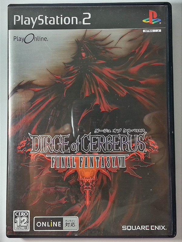 Dirge of Cerberus Final Fantasy VII [Japonês] - PS2