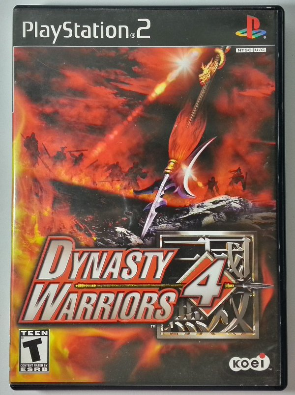 Dynasty Warriors 4 Original - PS2