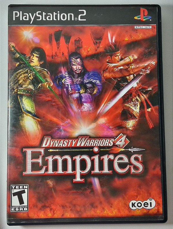 Dynasty Warriors 4 Empires Original - PS2