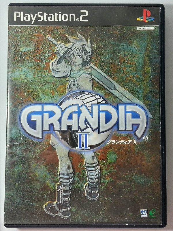 Grandia [Japonês] - PS2