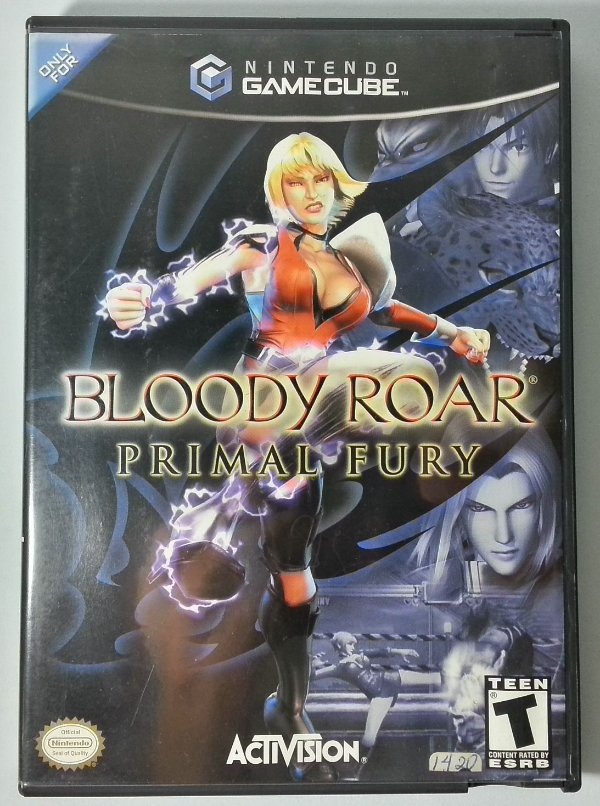 Bloody Roar Primal Fury Original - GC
