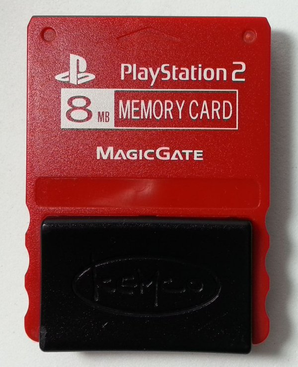 Memory Card Kemco - PS2