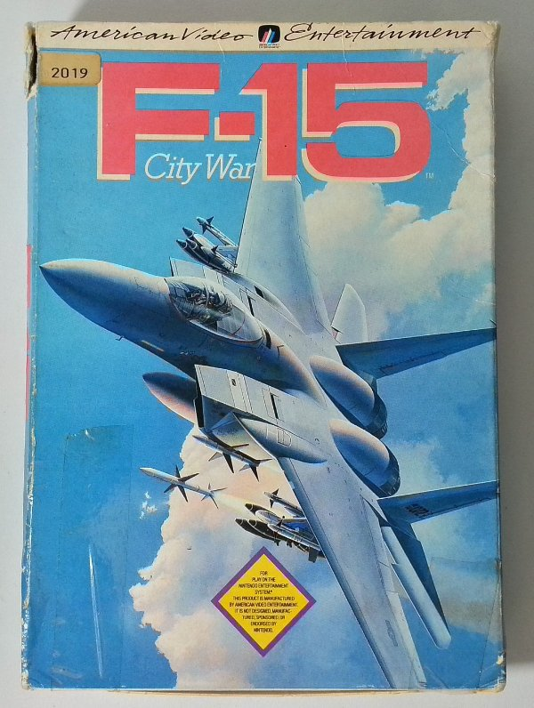 F-15 City War - NES